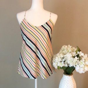 🌷 The Limited colorful striped tank